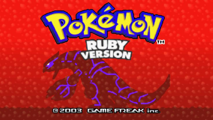 Pokémon Ruby and Sapphire being remade for 3DS  Digital