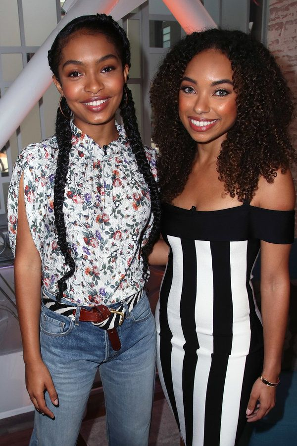 Yara Shahidi and Logan Browning  - Celebrity Photos of The Week: Apr 23 - Apr 29