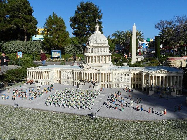 Washington D.C. at Miniland USA, #Legoland California