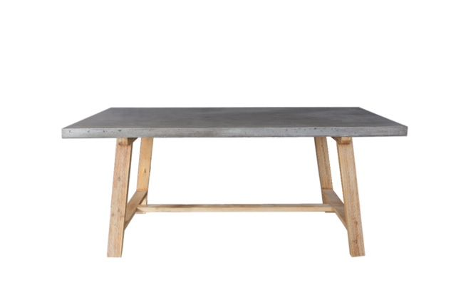 8 best concrete stone tables images on pinterest concrete dining table cement and dining room. Black Bedroom Furniture Sets. Home Design Ideas