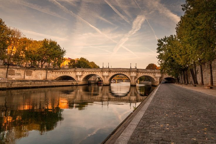 Along the river by Martine Guay on 500px