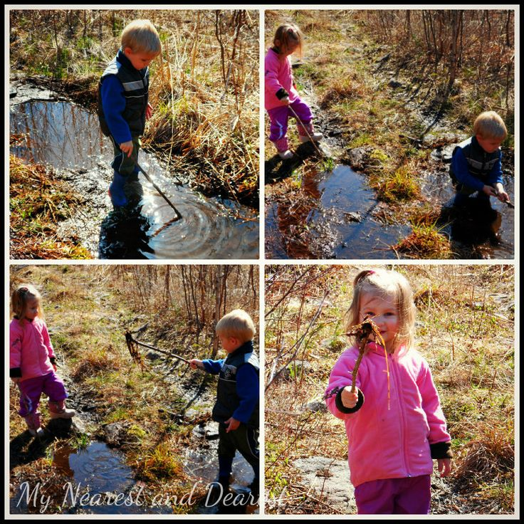 unstructured play in nature