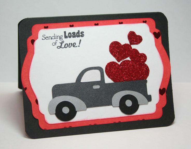 Valentines Cards Using the Cricut | ... Cricut Cardz Challenge is to make a Valentine's Day card for a man