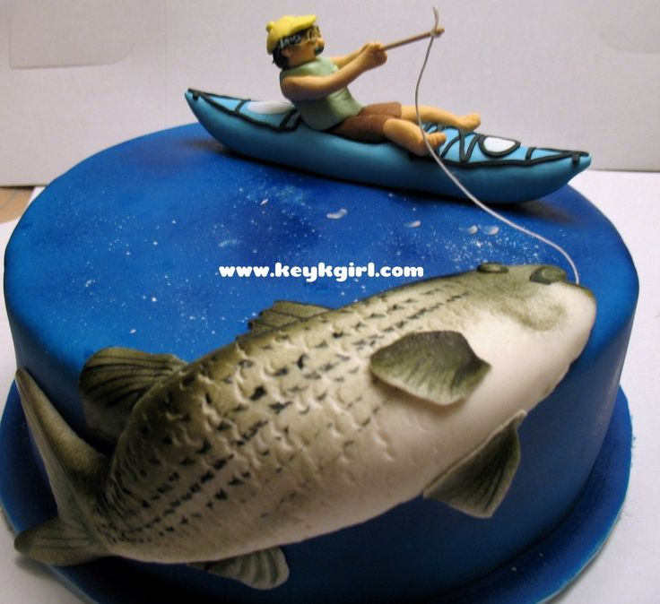 fishing birthday cake pictures | fishing birthday cake | Keyks Bakery in Massachusetts