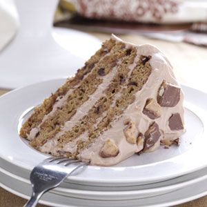 """Tiramisu Toffee Torte - """"Tiramisu is Italian for """"pick-me-up,"""" and this treat truly lives up to its name. It's worth every bit of effort to see my husband's eyes light up when I put a piece of this delicious torte in front of him."""" —Donna Gonda  (I know a few people in my family that would really like this!  I'm going to have to try this recipe out soon.)"""