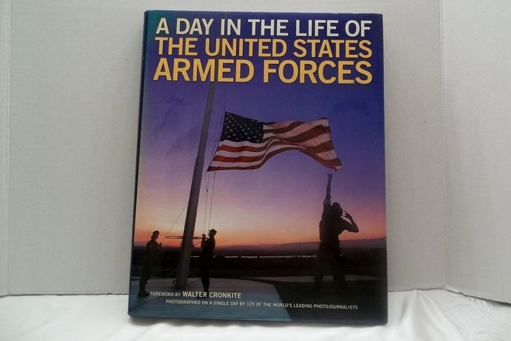 A Day In The Life Of The United States Armed Forces Book Naythons & Korman