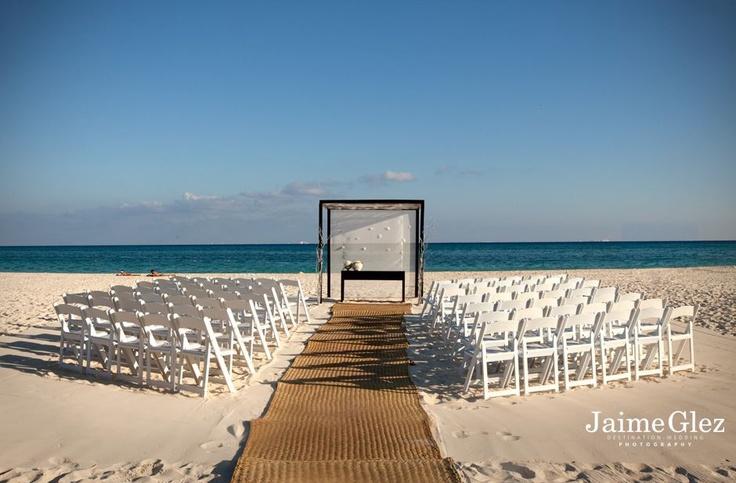 The location, #Playacar Palace Resort, Playa Del Carmen Mexico ♥ destination wedding #beachweddings
