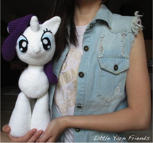 Amigurumi Pattern My Little Pony : 1000+ ideas about Crochet Pony on Pinterest Amigurumi ...