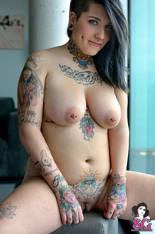 Chubby tattooed women Anal Sex