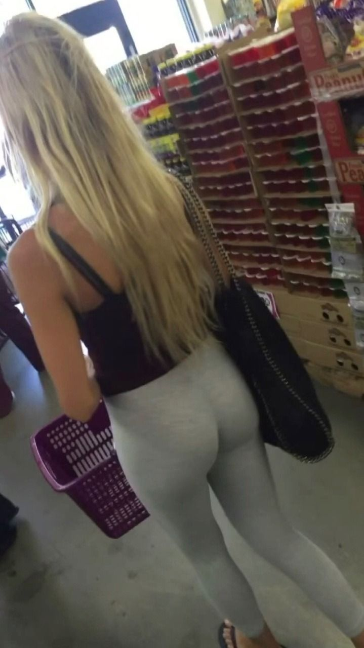 Have skinny blonde tight ass