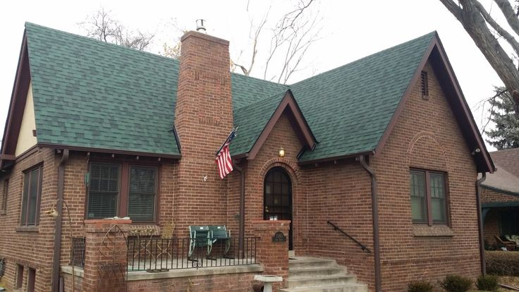 Best Elite Roofing Installed This Owens Corning Chateau Green 640 x 480