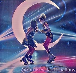 Edit hecho por mí. Amo verlas juntas Luna y Ámbar ❤❤. #1MillónDeSegParaKarol  . . SEGUINOS ☝☝☝❤ . #karolsevilla #karolista #follow4follow #dj #swag #soyluna #amazing #cute #dance #smile #f4f #selenagomez #selenators #QueSePareElMundo #friends #life #lunaticos #like4like #fashion #lutteo #music #work