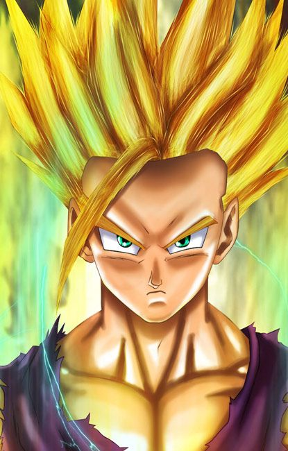 610 best images about dragon ball z wallpapers dragon - Teen gohan wallpaper ...