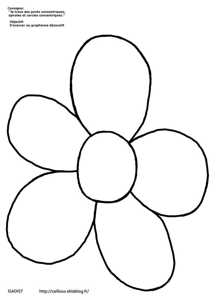 la fleur en graphisme maternelle id es pinterest les fleurs fleur et fleurs printemps. Black Bedroom Furniture Sets. Home Design Ideas
