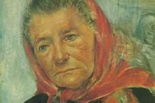 One of my favourite Edna Hibel paintings - I have always loved the wisdom you can see in the faces of the elderly.