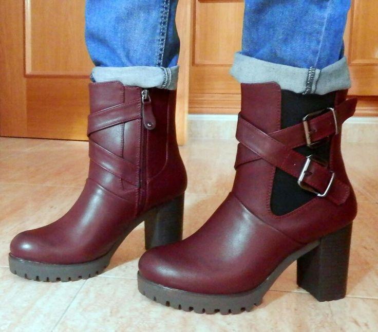 Así quedan de preciosos mis nuevos botines Gioseppo, adoro esta marca y sus zapatos, tengo varios y son los más cómodos.