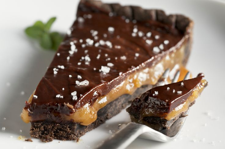 Chocolate Caramel Tartlets for Chocolate Monday! - The Heritage Cook ...