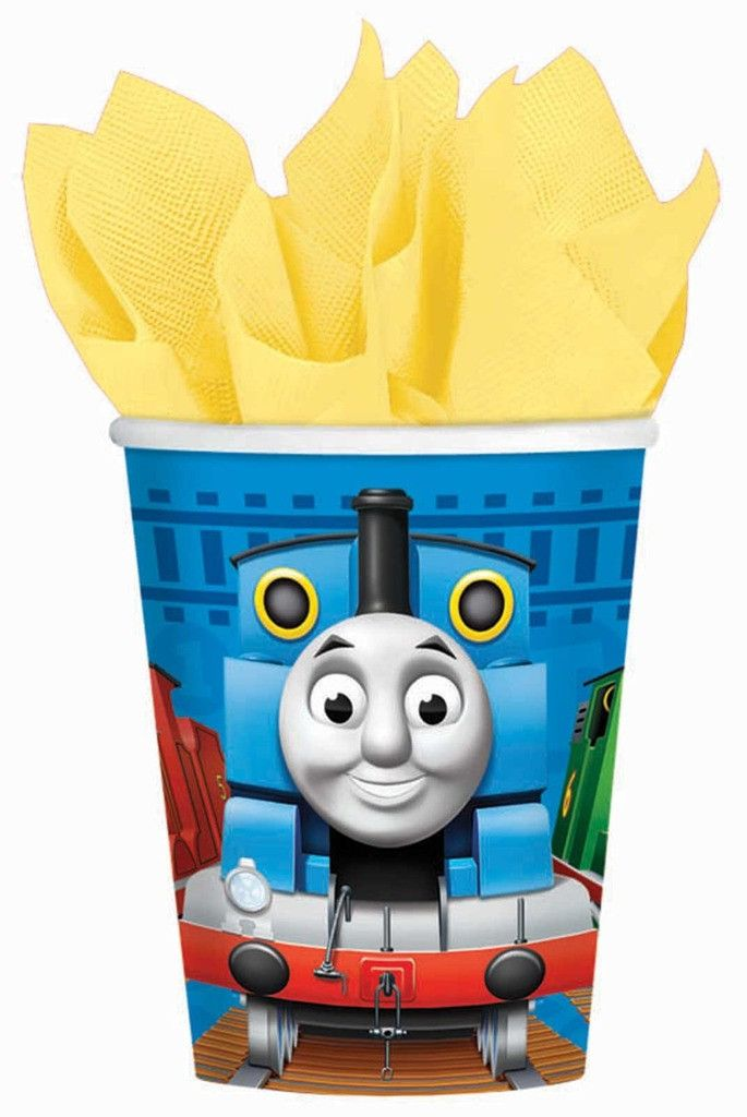 Thomas the Tank 9 oz. Paper Cups