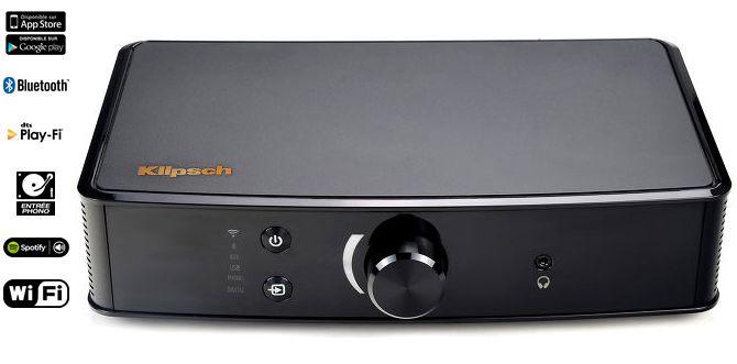 Klipsch PowerGate Ampli HIFI DLNA KLIPSCH - Amplificateurs/Amplificateurs HIFI DLNA - CinAudio