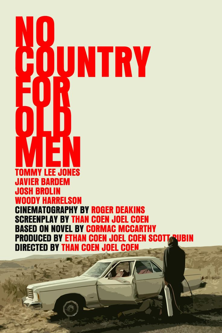no country for old men writer Shop for no country for old men at best buy find low everyday prices and buy online for delivery or in-store pick-up best writer (3) adapted screenplay (2.