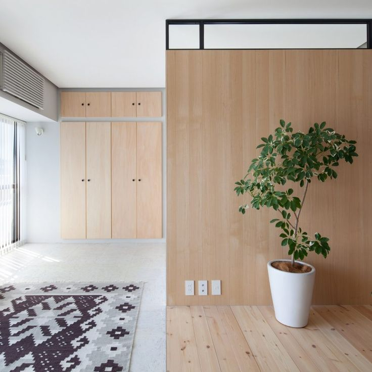 10 home interiors featuring partition walls from Dezeen's Pinterest boards