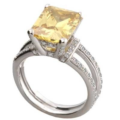 What could be better than to #gift this 14k white gold yellow topaz stone ring at your anniversary to show that the days spent with you have been the most beautiful days of your life.