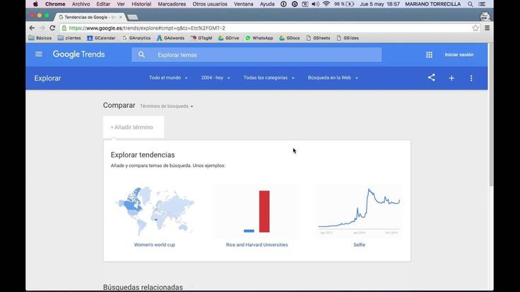 Compare Google Trends and Keyword Planner