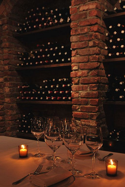 Old Style Wine Cellar - Partial View