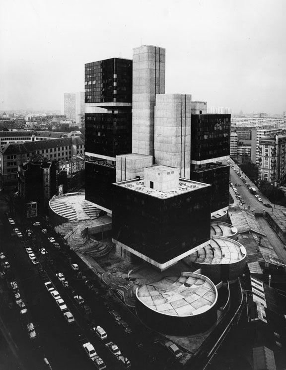 Pierre Parat, Centre universitaire Pierre Mendès France, Paris 13e, 1970-1973 © Agence Andrault et Parat. DAU.SIAF / Cité de l'architecture et du patrimoine / Archives d'architecture du XXe siècle