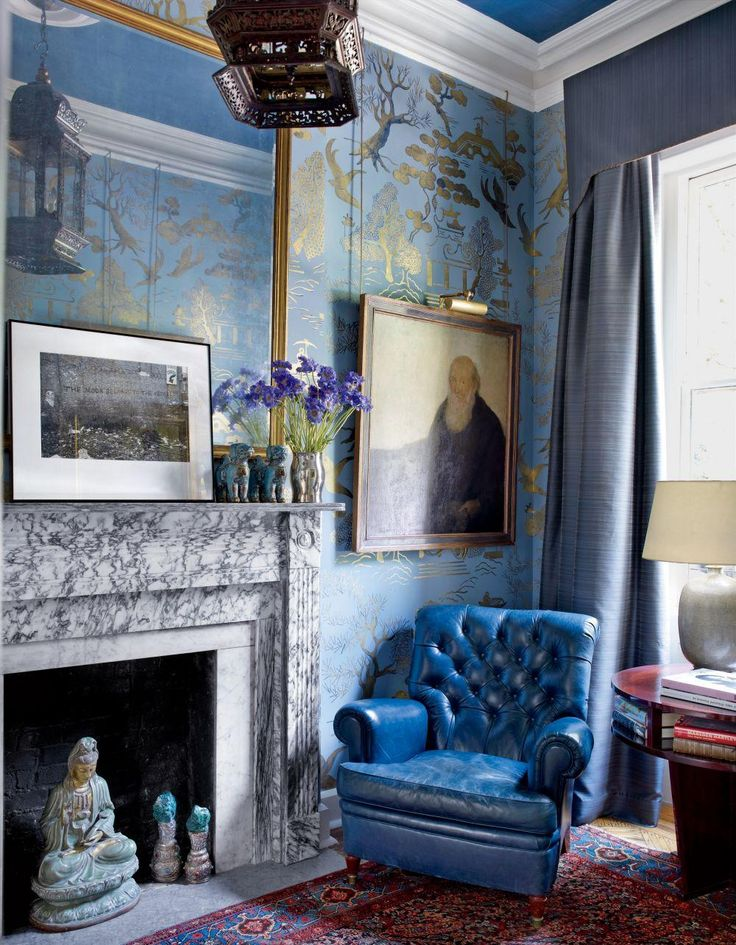 See how Chinoiserie wallpaper adds a delicate and inviting touch to any room