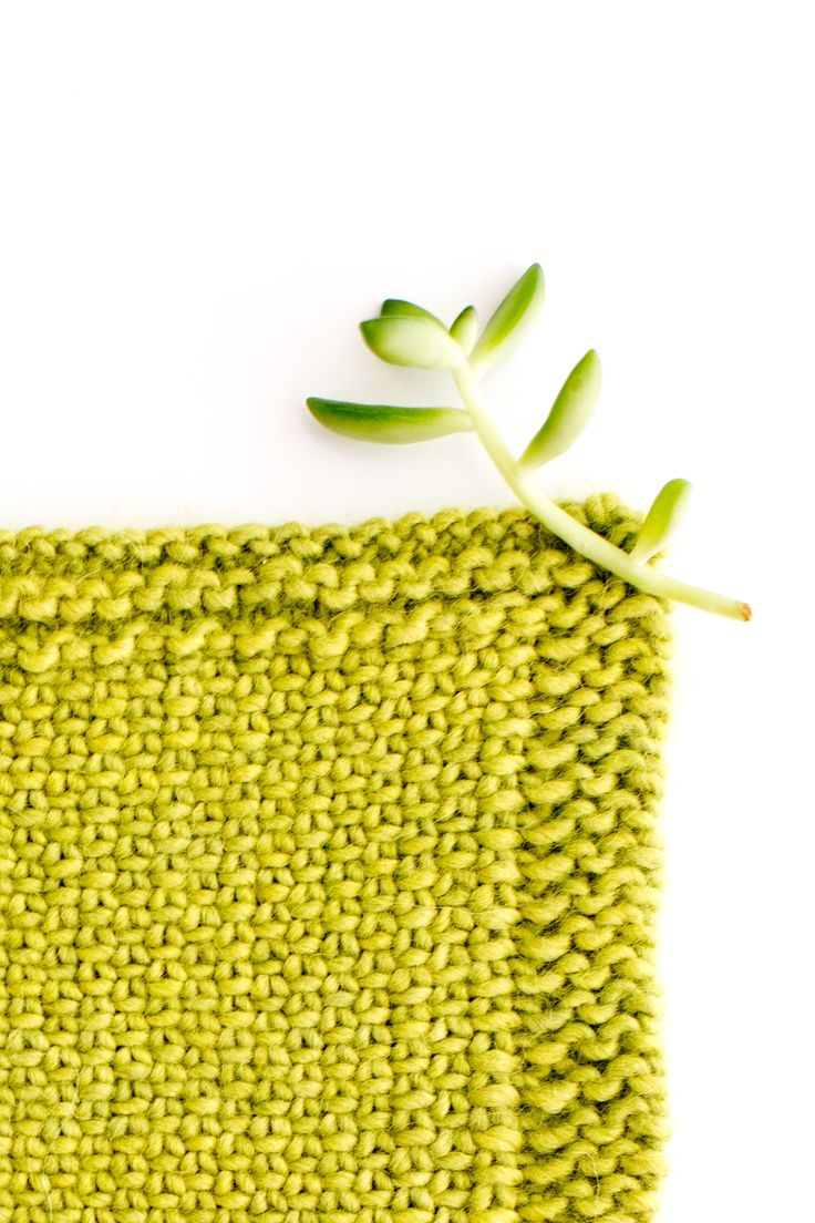 how to knit the linen stitch