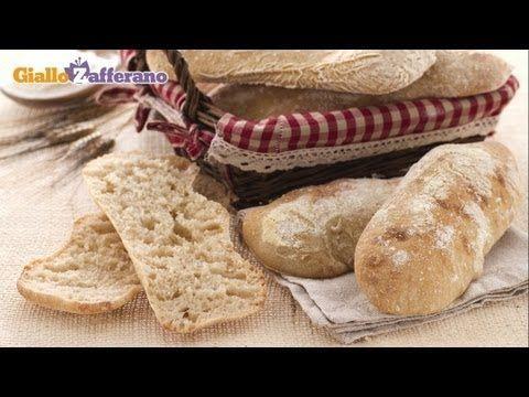 Pane cafone - pane napoletano fatto in casa, la ricetta di Giallozafferano - YouTube