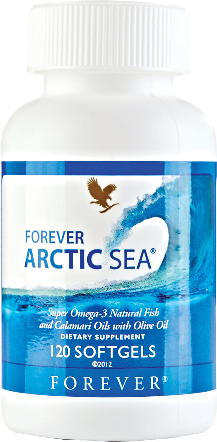 The human body cannot naturally make the omega-3 fatty acids which are commonly found in fish. Forever Arctic Sea's blend of natural fish and calamari oil contains the essential fatty acids EPA – which contributes to the normal function of the heart – and DHA – which contributes to the maintenance of normal brain function. N.B. Contains fish (salmon, anchovy and cod).