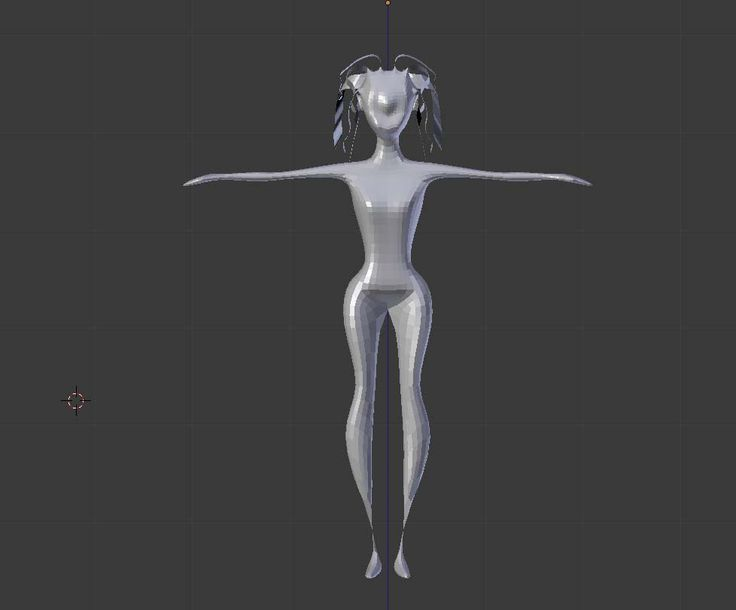 My first 3D character. #work #3d #design #body #practise #character #ritara