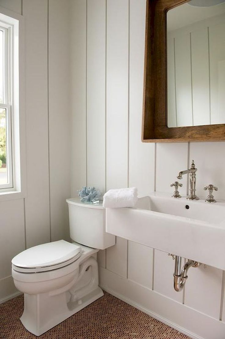 60 cool rustic powder room design ideas (40