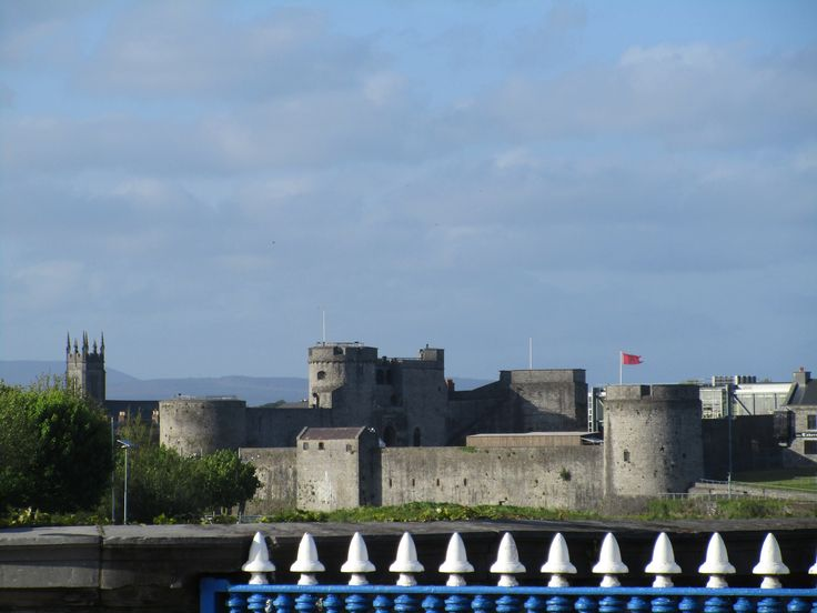 """King John's Castle is only minutes from the Limerick Strand, and our honeymooners spent several hours learning it's history through the """"living interpretation and re-enactment with costumed guides who reveal the secrets and scandals of castle life."""""""