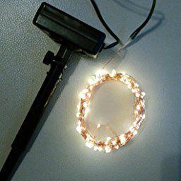 Amazon.fr:Commentaires en ligne: Kohree® Guirlande Lumineuse LED solaire 120 LED 6M Guirlande Lumineuse d'éxterieur étanche IP45 Fil cuivre