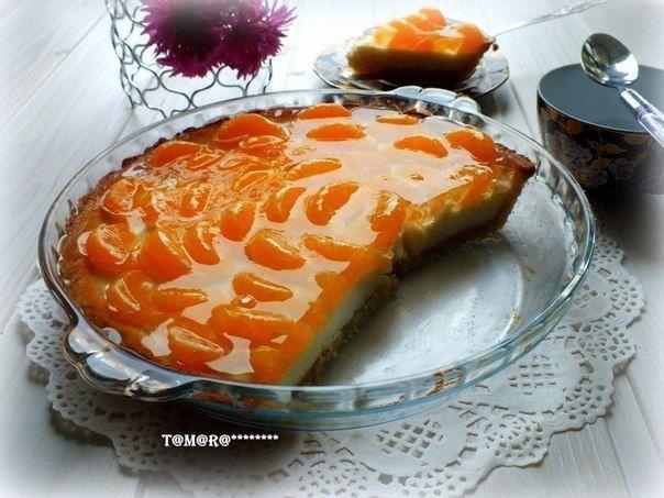 Тарт с мандаринами Вкуснолог...   Вкуснолог...
