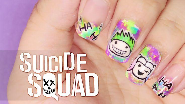 Squad Nail Art