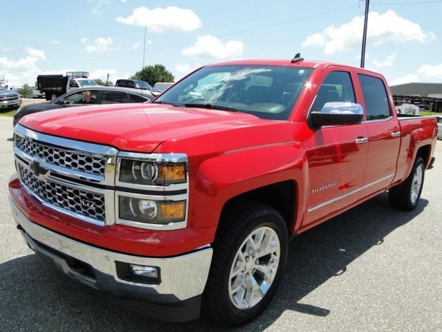 Repaired 2015 Chevrolet Silverado 1500 LTZ pickup