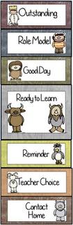 Herding Kats in Kindergarten: Behavior Clipchart