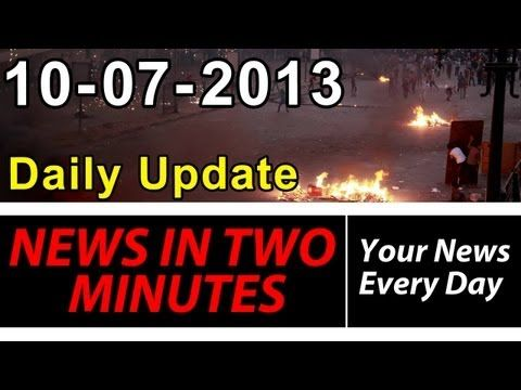▶ News In Two Minutes - Dead Riots in Egypt - 400k Evacuated in China - Chemical Weapon Destruction - YouTube