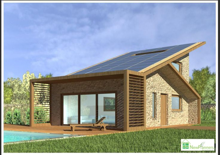 New Planners. Developing the modern design and layout in combination with the renewed energy sources, our company presents you with an innovative solution for obtaining a bioclimatic home of 82 m2. At the same time the bioclimatic building has been designed so as to produce photovoltaic system of 10 kwp power, efficient to yield up your annual income which enables you to pay off almost the 50% of the house. #New_Planners #photovoltaic #MadeinMyCountryGreece