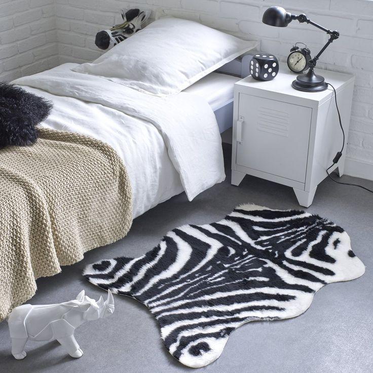 Die besten 25+ Zebra haut teppich Ideen auf Pinterest Zebra - schlafzimmer zebra