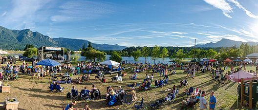 Gorge Blues and Brews Festival in Stevenson, WA