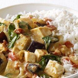 Eggplant and Tofu Curry