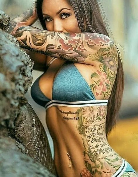 0831e57fcafae Pin by Clpemdertonpembe on a tatooed woman nothing hotter   Girl tattoos, Inked  girls, Tattoos