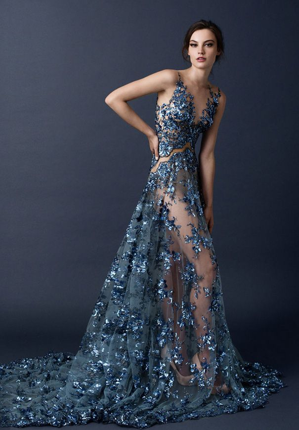 paolo-sebasion-AW15-the-sleeping-garden-blush-gold-bronze-bridal-gown-wedding-dress-violet-purple8 jαɢlαdy