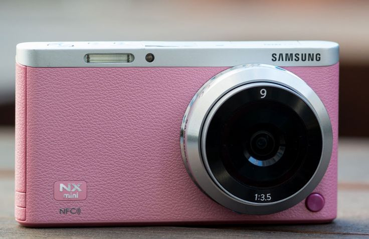 Weighing in at a third of a pound, the Samsung NX Mini Camera is the world's smallest and lightest interchangeable lens camera. The only area it's not light in is performance. The NX Mini boasts a 20.5MP BSI CMOS Sensor, three available lenses, and a 3″ flip-up touchscreen. The screen flips to 180-degrees to help capture the perfect selfie. And with NFC and Wi-Fi capabilities, sharing across multiple social networks is a breeze.