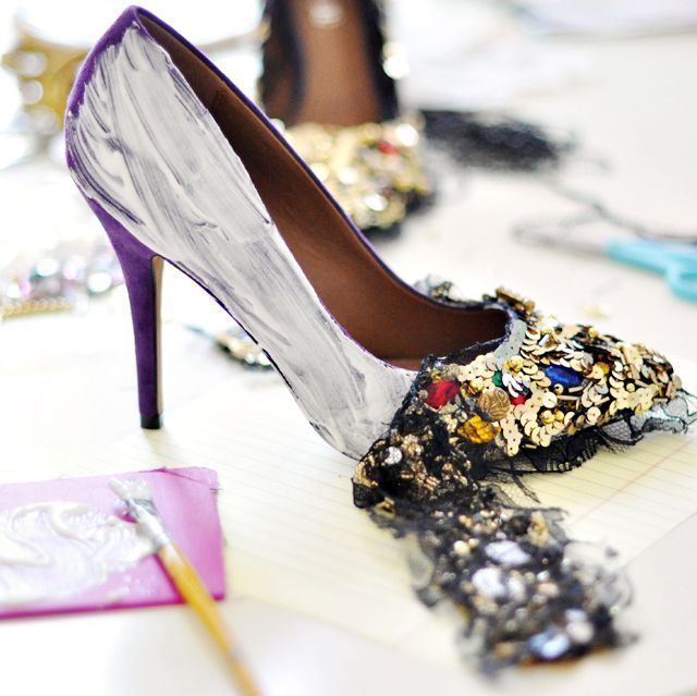 Maeg-it Yourself Jewel Embellished Shoes DIY